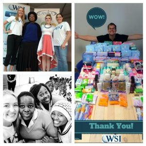 wsi at the poise and pride campaign for robin hood foundation