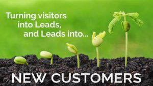 what is marketing automation? turning visitors into leads, leads into customers